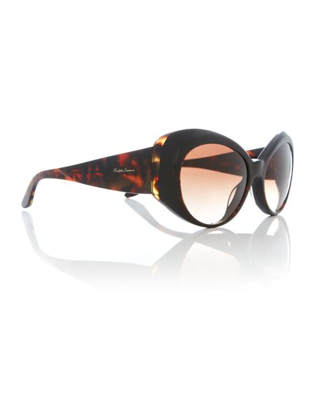 Polo Ralph Lauren Havana irregular RL8139 sunglasses