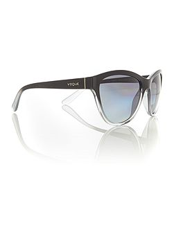 Black cat eye VO2993S sunglasses