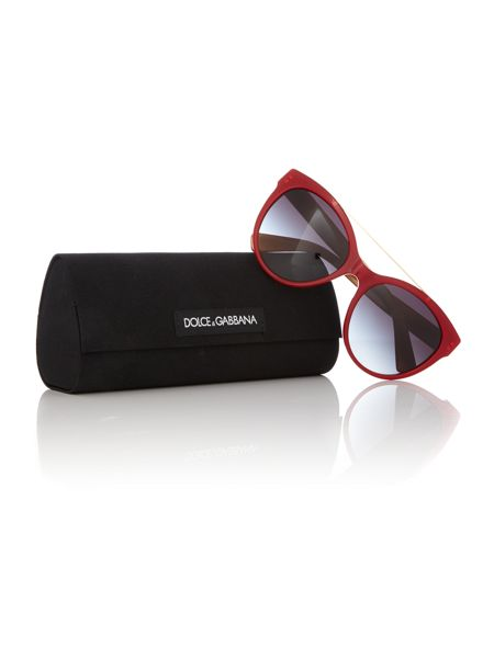 Dolce&Gabbana red round DG4280 sunglasses
