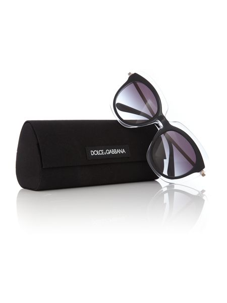 Dolce&Gabbana Black irregular DG4282 sunglasses