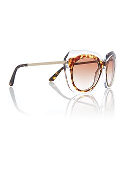 brown irregular DG4282 sunglasses