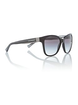Black square EA4068 sunglasses