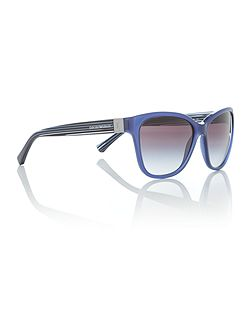 Blue square EA4068 sunglasses
