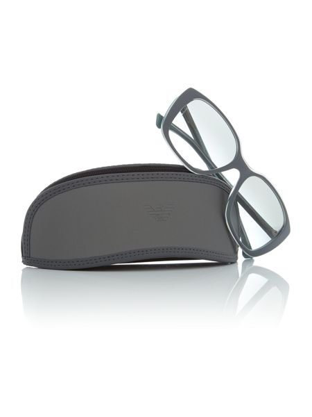Emporio Armani Grey square EA4069 sunglasses