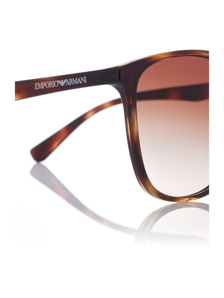 Emporio Armani Grey square EA4070 sunglasses