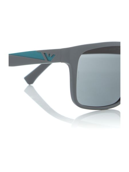 Emporio Armani Grey square EA4071 sunglasses