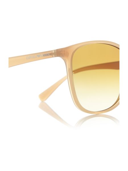 Emporio Armani Yellow cat eye EA4073 sunglasses