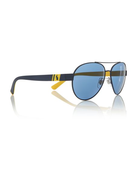 Polo Ralph Lauren Blue aviator PH3098 sunglasses