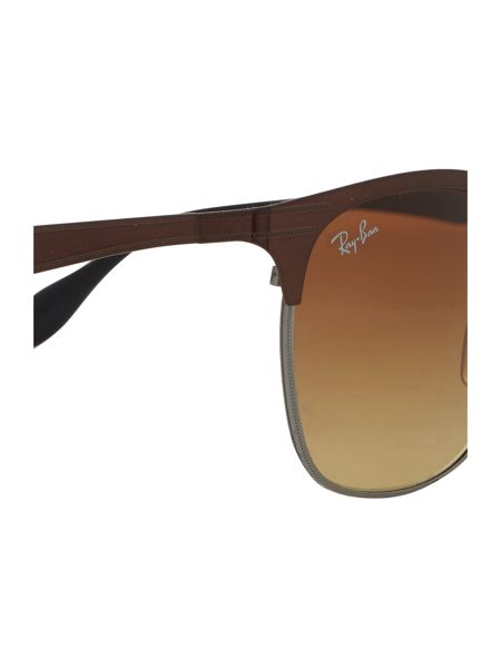 Ray-Ban Brown  square  sunglasses RB3538