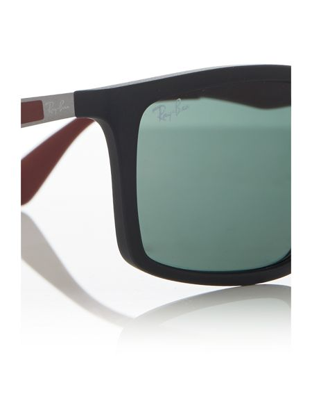 Ray-Ban Black  rectangle  sunglasses RB4228
