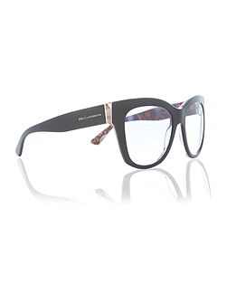 Black square DG4270 sunglasses