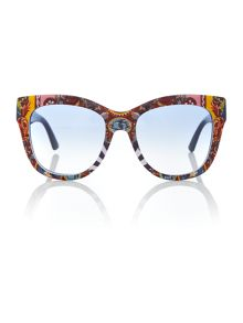Dolce&Gabbana Blue square DG4270 sunglasses