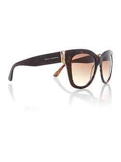 Brown square DG4270 sunglasses