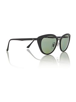 Black  rectangle  sunglasses RB4250