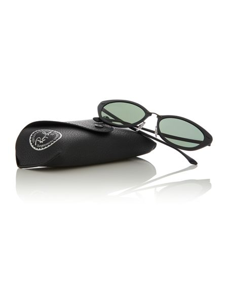 Ray-Ban Black  rectangle  sunglasses RB4250