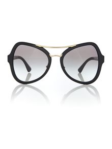 Prada Sunglasses Black butterfly PR 18SS sunglasses