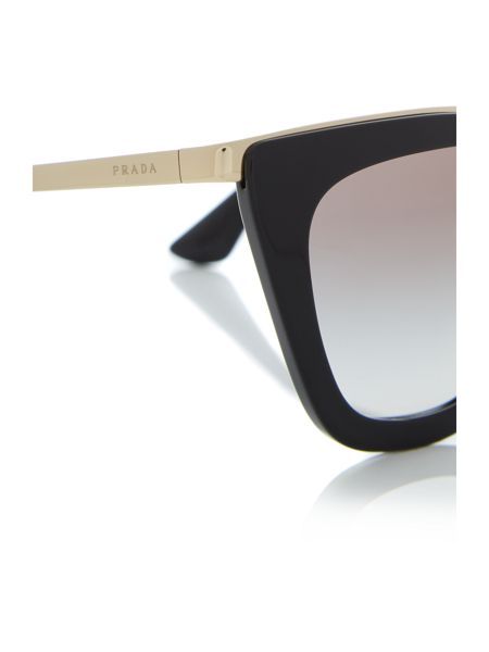 Prada Sunglasses Black cat eye PR 53SS sunglasses