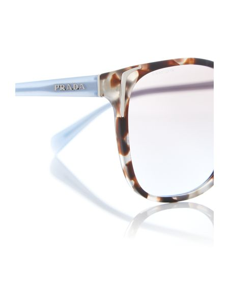 Prada Sunglasses Brown square PR 01OS sunglasses