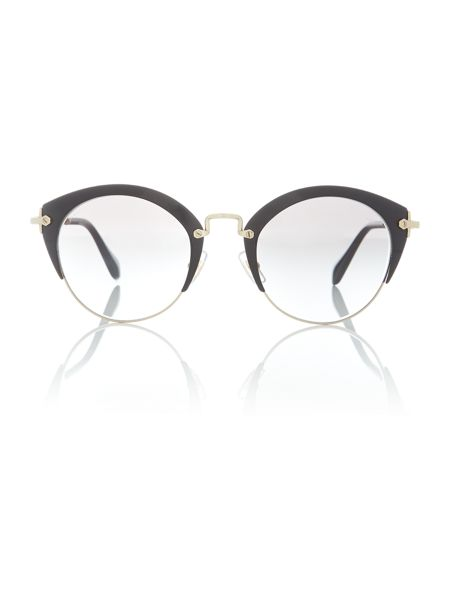 Miu Miu Black phantos MU 53RS sunglasses