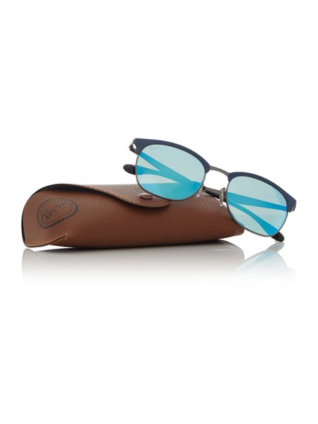 Ray-Ban Blue square sunglasses RB3538