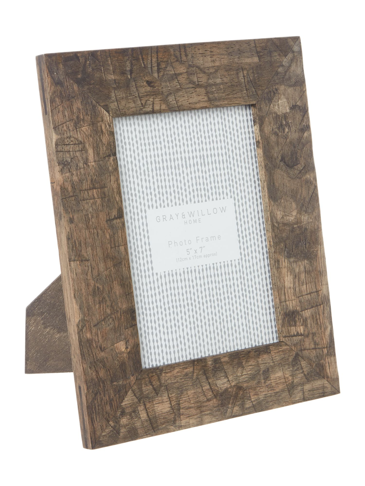 Gray & Willow Gray & Willow Grey carved frames 5x7