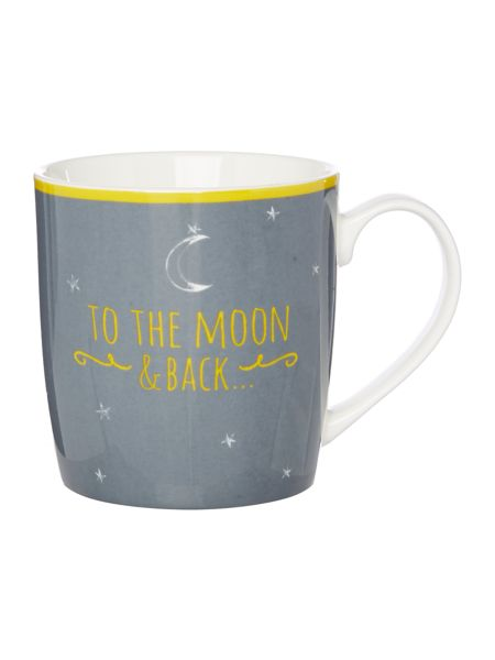 Linea To the moon and back mug