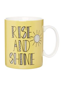 Linea Rise and shine jumbo mug