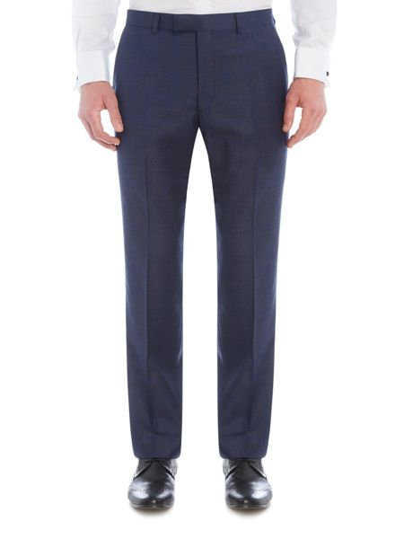 New & Lingwood Reading check suit trouser