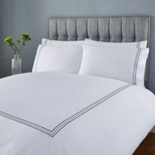 Luxury Hotel Collection Triple marrow stitch duvet cover set