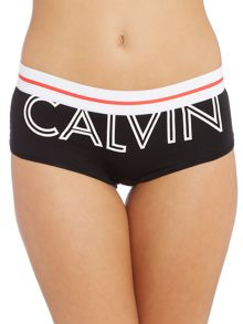 Calvin Klein Modern Cotton Exposed Logo boyshort