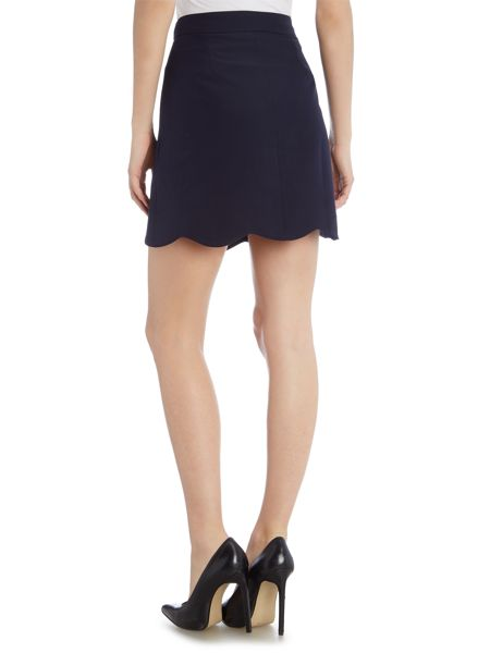 Girls on Film Button Front Mini Skirt
