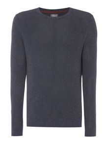 Linea Pierre Cotton Jaspe Crew Neck Jumper