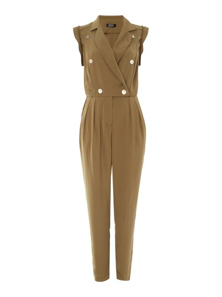 Girls on Film Chloe Lewis Sleeveless Military Style Jumpsuit