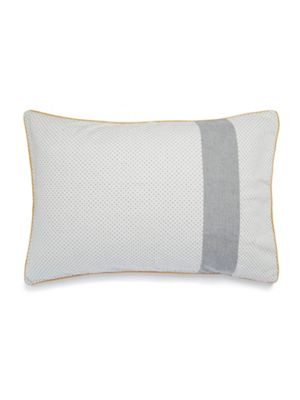 Gray & Willow Motala grey pillowcase pair