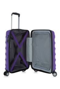 Antler Juno purple 4 wheel cabin suitcase
