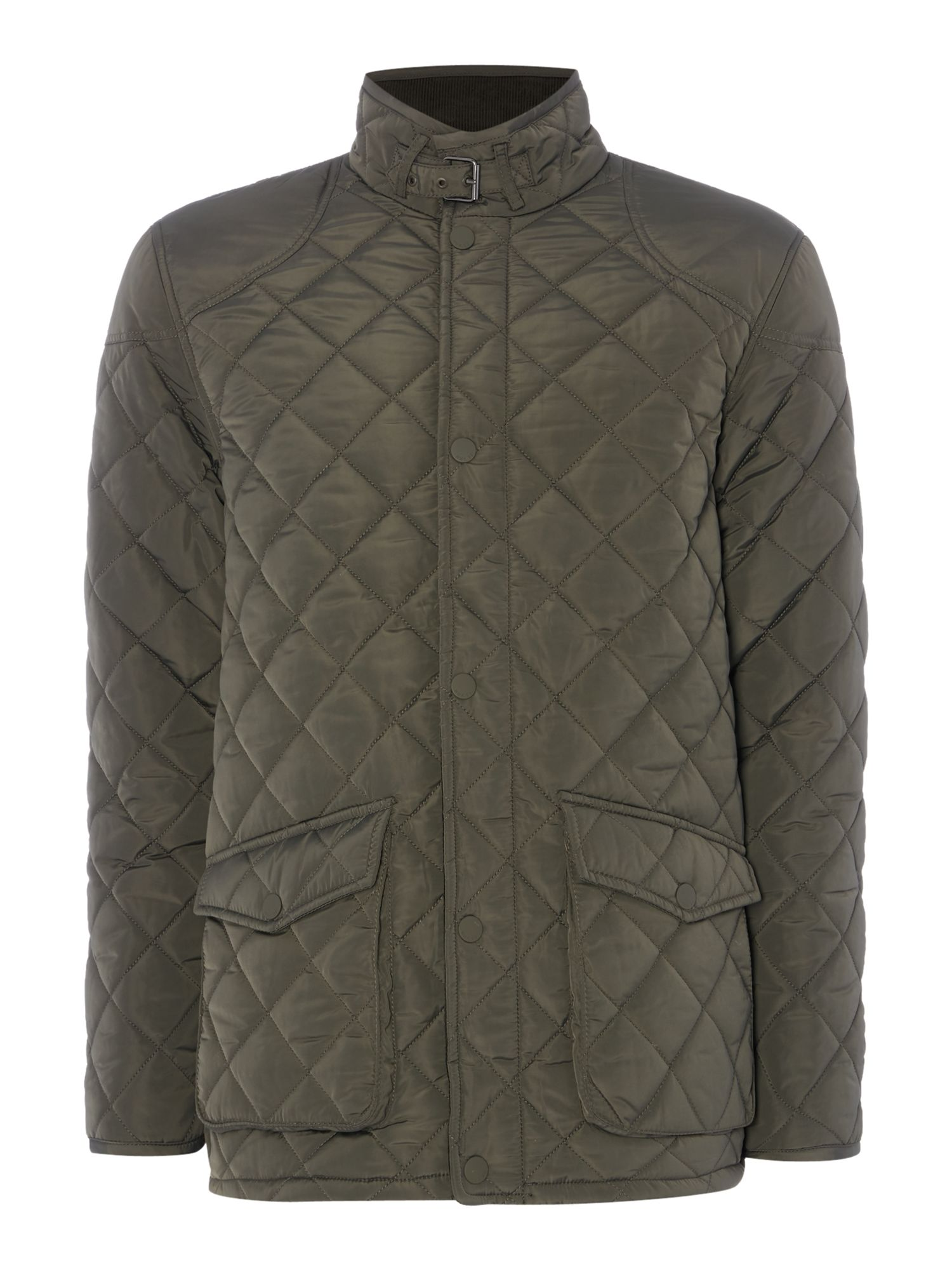 Howick Men's Howick The Pembroke Quilted Jacket, Evergreen