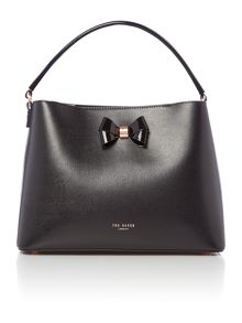 Ted Baker Alexxa Bow detail leather tote bag