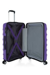 Antler Juno purple 4 wheel medium suitcase