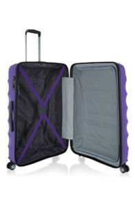 Antler Juno purple 4 wheel large suitcase
