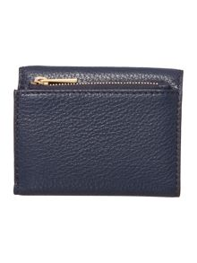 Michael Kors Liane navy small fold over purse