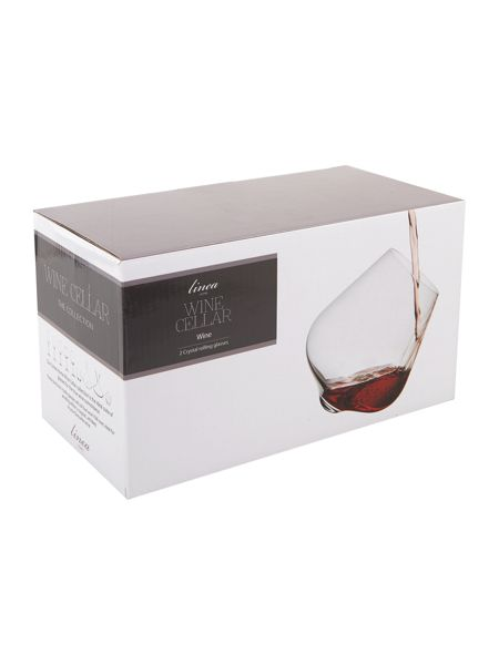 Linea Rolling Whisky Glass Set Of 2