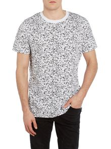 Jack & Jones Core All Over Print Crew Neck T-shirt