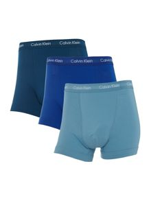 Calvin Klein 3 pack solid colour trunk