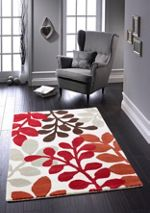Origin Rugs Red Arden Rug 80/150