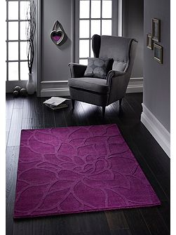 Purple Chrysanthemum Rug 160/230