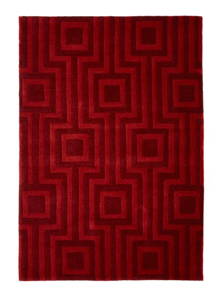 Origin Rugs Red Geo Rug 120/170