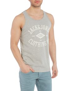 Jack & Jones Diamond Print Tank Top