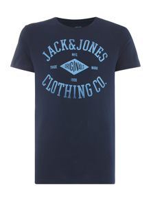 Jack & Jones Diamond Logo Crew neck T-shirt