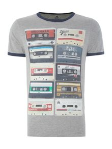 Jack & Jones Originals Retro Cassette Crew Neck T-shirt