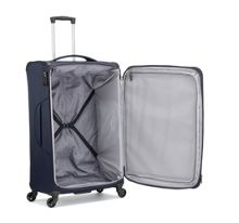 Antler Aire navy 4 wheel soft large suitcase
